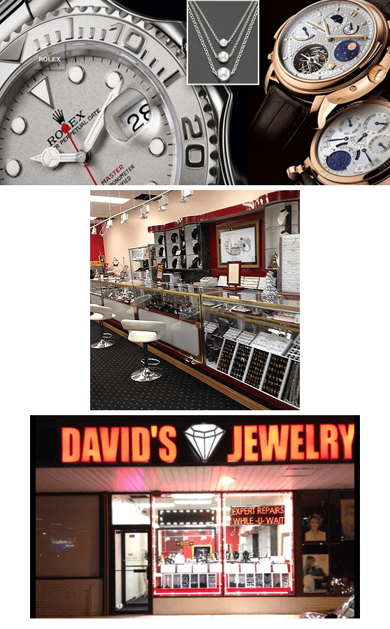 Davids Jewelry - Jewelry Repair and Appraisals - Bethpage, NY