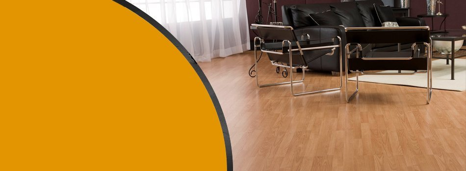 Living Room Laminated Floor