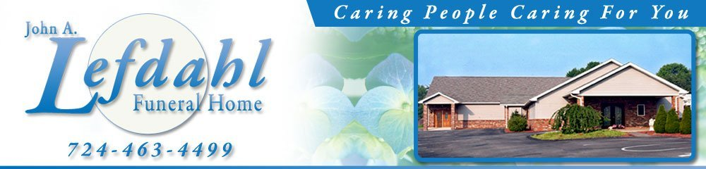 Funeral Home - Indiana, PA - John A Lefdahl Funeral Home