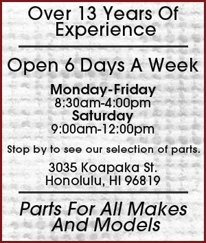 CAPA Certified Collision Parts - Honolulu, HI  - Mascot Auto Parts