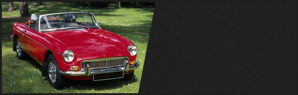 Red vintage jaguar convertable