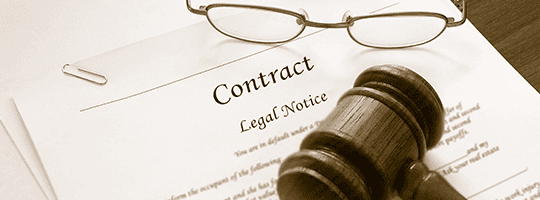 Contract Legal Notice