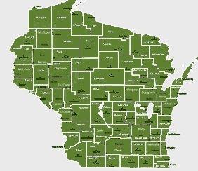 Gunderson & Associates, LLC   Service Area map
