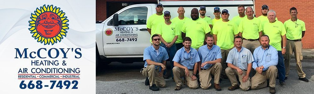 Heating And Air Conditioning - Jackson, TN - McCoy's Heating And Air