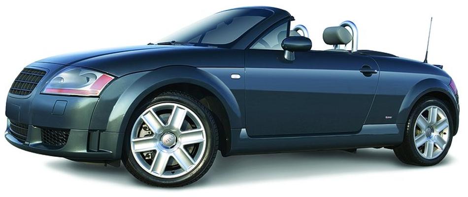 Shiny body of a blue car