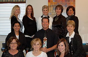 The owner and the staff of All Smiles Dentistry