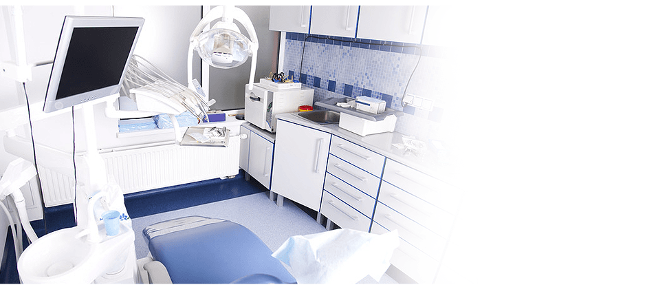 Clean and modern dental equipments