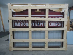 Beckley, WV - Missinary Baptist Church - Farha Signs