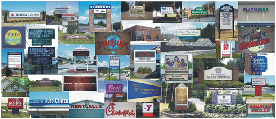 Custom Sign Services | Beckley, WV | Farha Signs | 304-252-3778