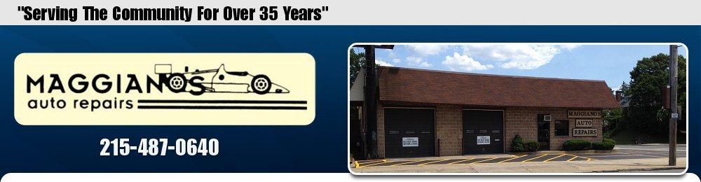 Auto Shop - Philadelphia, PA - Maggiano's Auto Repairs