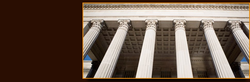 Courthouse column