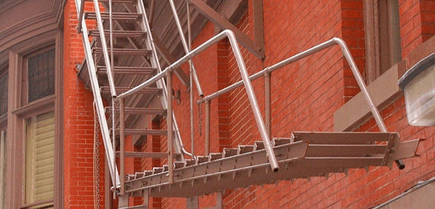 Fire escape and welding services