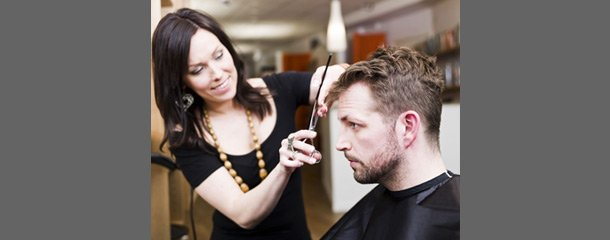 Men's cut and style service