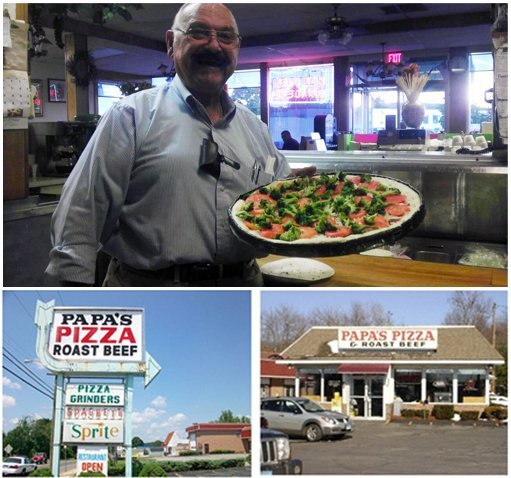 Pizza Restaurant - Willimantic, CT - Papa's Pizza & Roast Beef