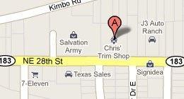 Chris's Trim Shop - 3001 NE 28th Street, Fort Worth, TX 76111-2958