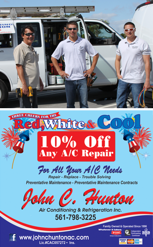Air Conditioner Maintenance | ,  | John C Hunton Air Conditioning & Refrigeration Inc. | 561-798-3225