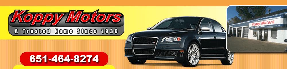 Auto Repair Shops - Forest Lake, MN - Koppy Motors