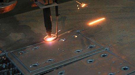Precise steel fabrication