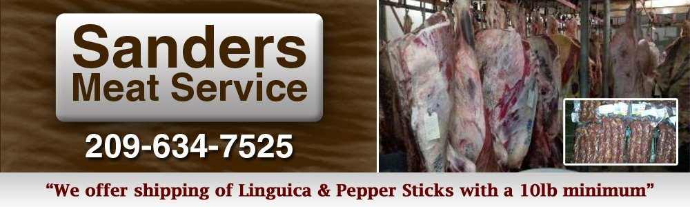 Meat Shop Turlock, CA - Sanders Meat Service