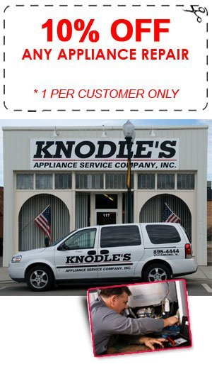 Appliances - Dekalb, IL - Knodles Appliance Service Company Inc - knodle's building and technician