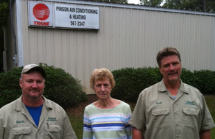 Owners of the Pinson Air Conditioning & Heating Inc