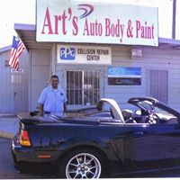 Car repair showroom