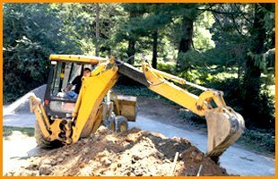 Backhoe and skid steer work | Petersburg, IL | Hemberger Construction Co. | 217-632-3370