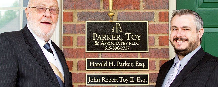 Harold Parker and John Toy