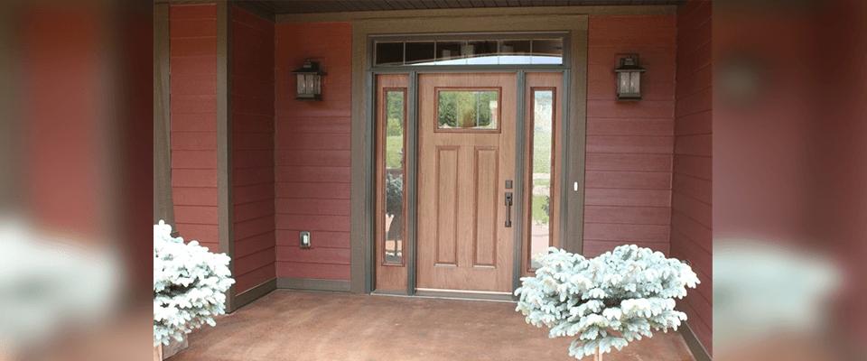 Waudena Millwork Doors Fiberglass Exterior Door West Fargo