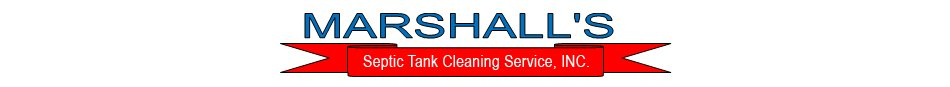 Marshall's Septic Tank Cleaning Service, INC. - Fredericksburg, VA - Septic System Company