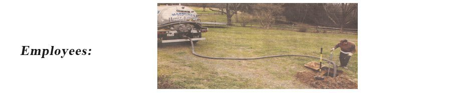 Fredericksburg, VA - Septic Tanks - Marshall's Septic Tank Cleaning Service, INC.