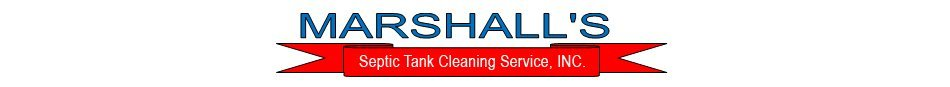 Septic Tanks - Marshall's Septic Tank Cleaning Service, INC. - Fredericksburg, VA