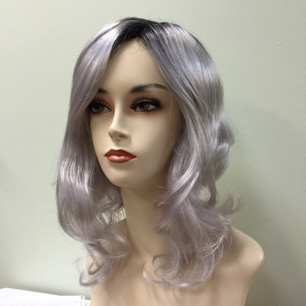 Color hairstyle Wig