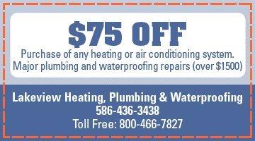 Lakeview Heating, Plumbing & Waterproofing - HVAC Specials - Warren, MI