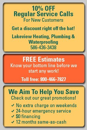 HVAC Repair - Warren, MI - Lakeview Heating, Plumbing & Waterproofing