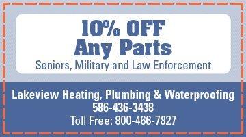 Lakeview Heating, Plumbing & Waterproofing - Warren, MI - HVAC Specials