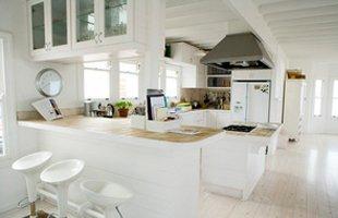Custom cabinet on kitchen