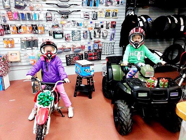 ATV and Bike