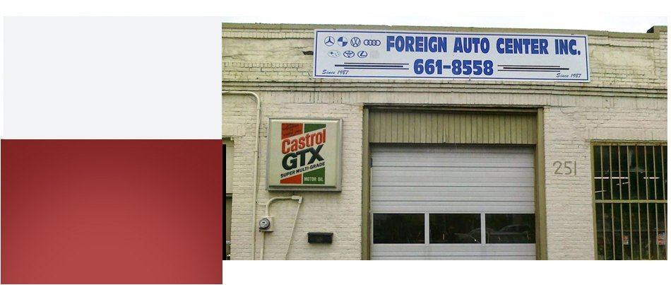 Front Office | Cambridge, MA | Foreign Auto Center, Inc. | 617-876-1262