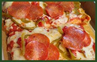 Pizza Menu - Canonsburg,  PA    - Sam's Pizza Shop