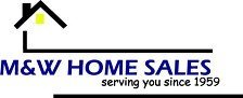 M & W Home Sales - logo