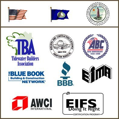 TBA, BCE, ABC , The Blue Book, BBB, EIMA, AWCI, and EIFS