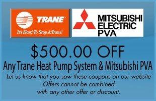 Trane & Mitsubishi Offer