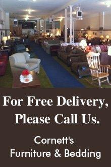Furniture Dealers - Crawfordsville, IN - Cornett's Furniture & Bedding