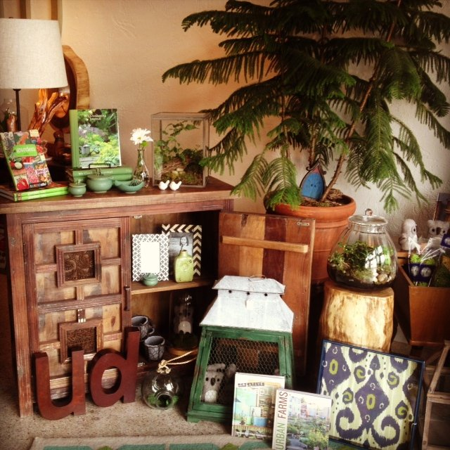 A selection of home decor items at UrbanDigs