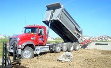 Trucking - Des Moines, IA - JMT Trucking - red truck