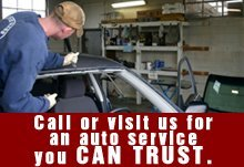Auto Repair - Lawrence, KS - Mass Street Automotive - windshield repair - Call or visit us for an auto service you can trust