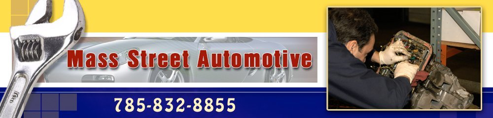 Contact Mass Street Automotive today at 785-832-8855 for all your Lawrence, KS auto service needs.