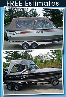 Custom Boat Covers And Automotive Upholstery Eveleth Mn