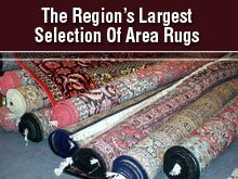 Area Rugs - Volant, PA - The Barns - Oriental Rugs - The Region's Largest Selection Of Area Rugs